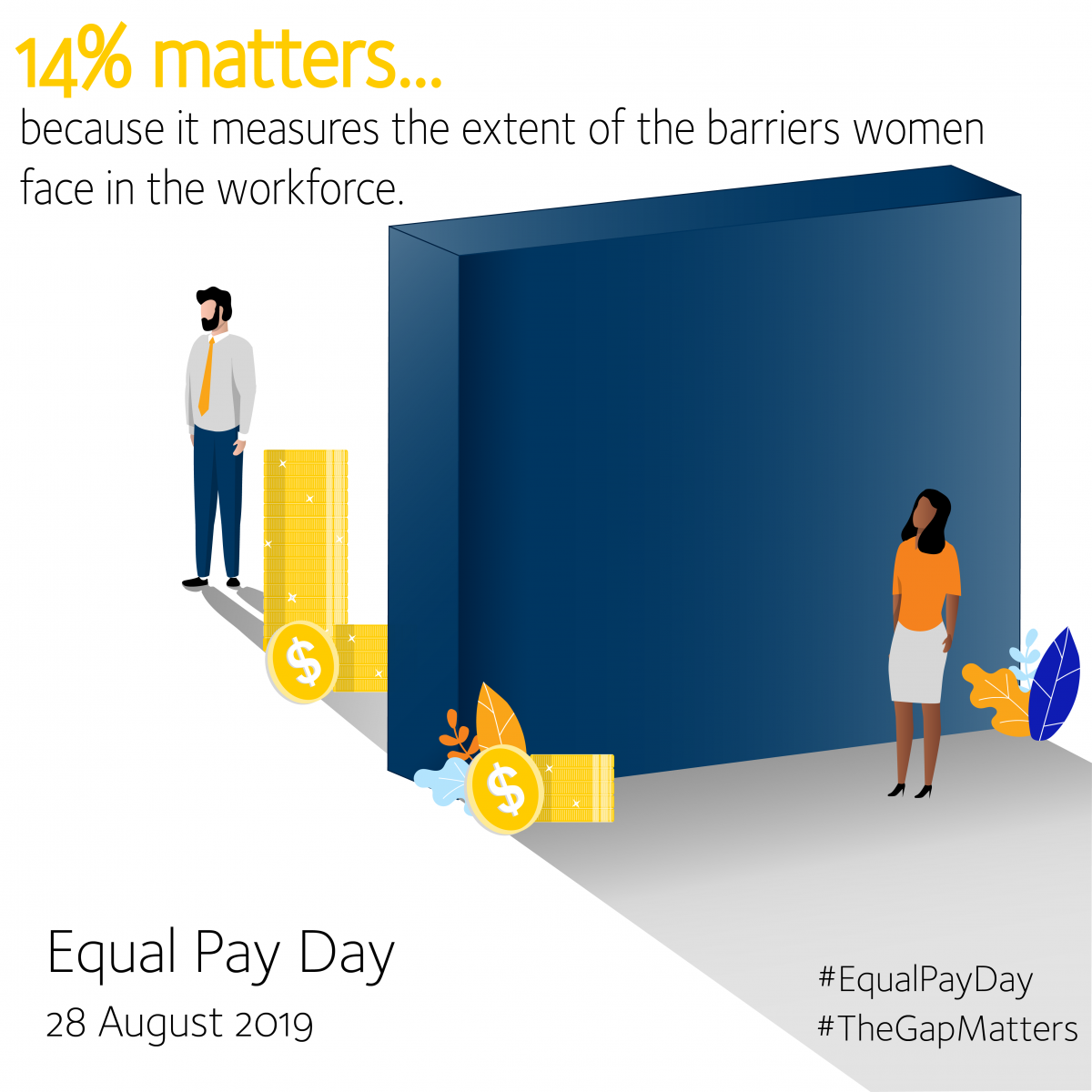 Equal Pay Day 2019 - #TheGapMatters - Barriers