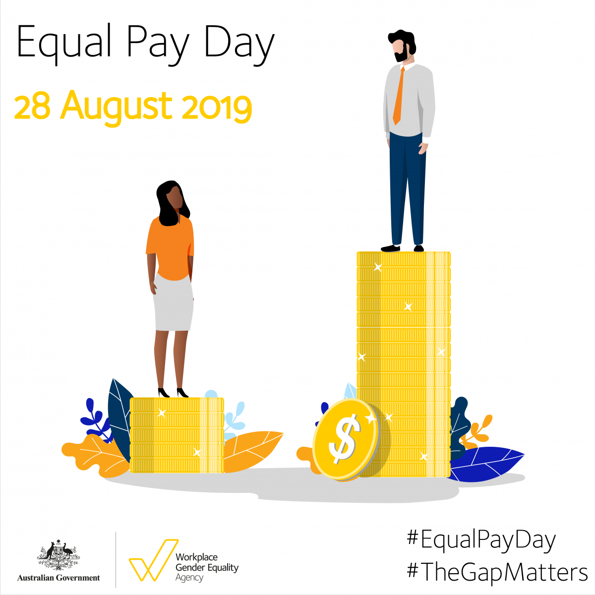 Equal Pay Day 2019 - 28 August