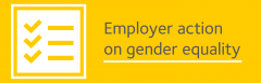 Employer action on gender equality