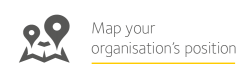 image is decorative and depicts map your organisation's position