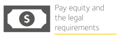 Image depicts pay equity and the legal requirements