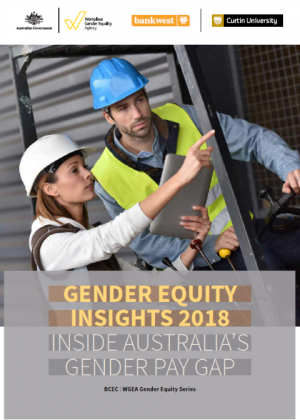 Gender Equity Insights 2018: Inside Australia's Gender Pay Gap Cover