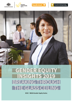 Gender Equity Insights 2019: Breaking Through the Glass Ceiling Cover