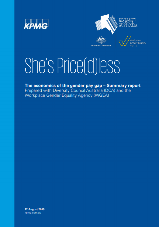 She's Price(d)less 2019 - Front cover summary report