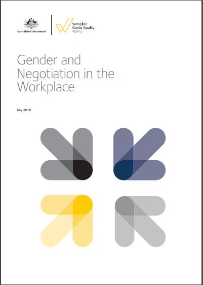 Image is decorative and depicts the cover of the negotiation paper